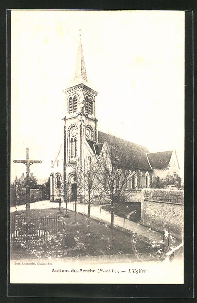 AK Authon-du-Perche, L`Eglise 0