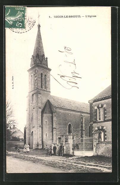 AK Ozoir-le-Breuil, L`Eglise 0