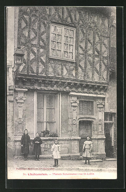 AK Chateaudun, Maison Renaissance Rue St.-Lubin 0