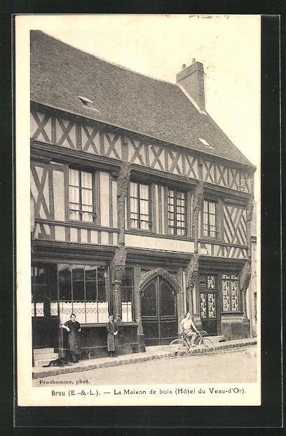 AK Brou, La Maison de bois, Hotel du Veau-d`Or 0