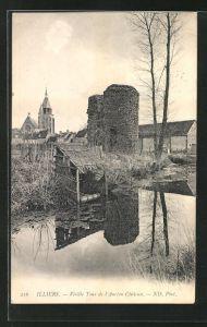 AK Illiers, Vieille Tour de l`Ancien Chateau