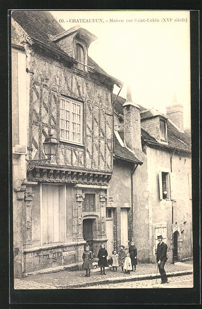 AK Chateaudun, Maison rue Saint-Lubin 0