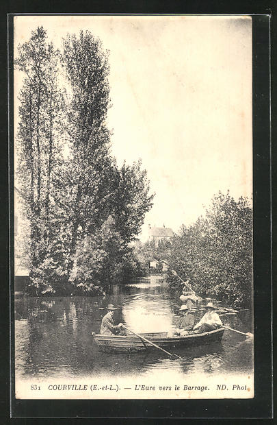 AK Courville, L`Eure vers le Barrage 0