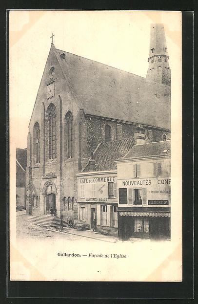 AK Gallardon, Facade de l`Eglise 0