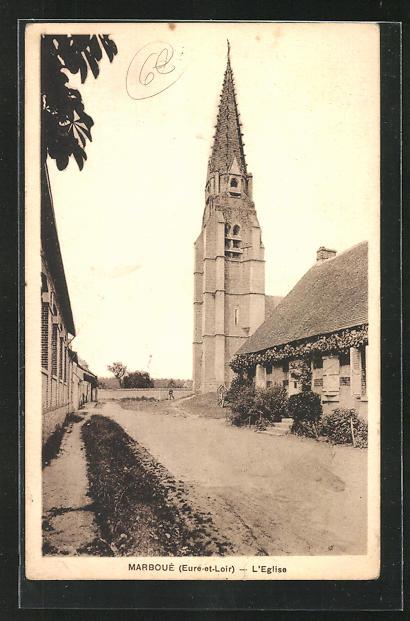 AK Marboue, L`Eglise 0