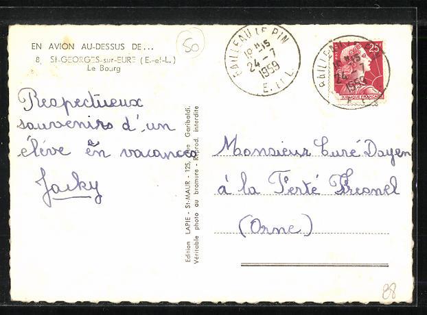 AK St.-Georges-sur-Eure, Le Bourg 1