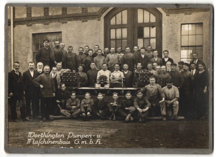 Fotografie Richard Weber, Berlin, Ansicht Berlin-Hohenschönhausen, Worthington Pumpen & Maschinenbau, Quitzowstr. 3-7 0