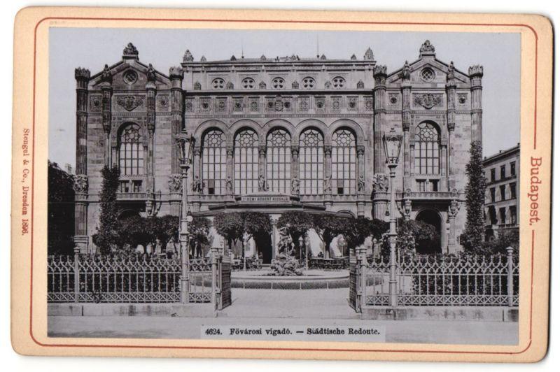 Fotografie Stengel & Co., Dresden, Ansicht Budapest, Städtische Redoute