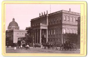 Fotografie Römmler & Jonas, Dresden, Ansicht Berlin, das Königliche Palais