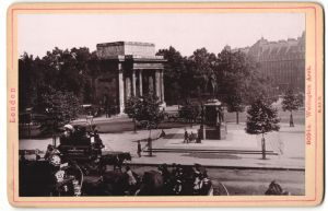 Fotografie Römmler & Jonas, Dresden, Ansicht London, Wellington Arch