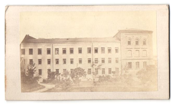 Fotografie Carl Fabricius, Speyer, Ansicht Speyer, Gebäude im Ort 0