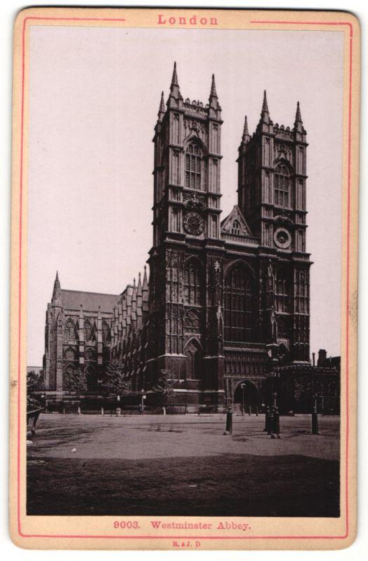 Fotografie Römmler & Jonas, Dresden, Ansicht London, Westminster Abbey
