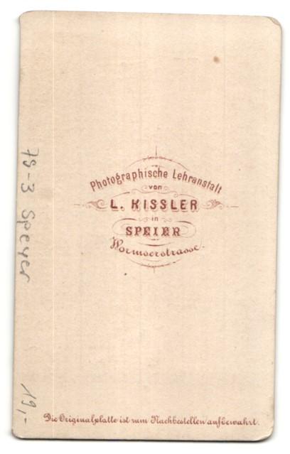 Fotografie L. Kissler, Speyer, Ansicht Speyer, der Kaiserdom und weitere Motive 1
