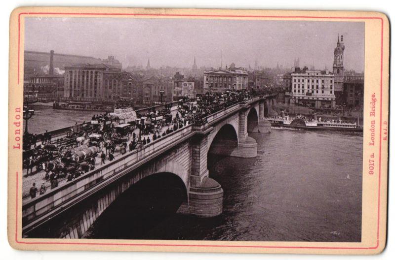 Fotografie Römmler & Jonas, Dresden, Ansicht London, London Bridge