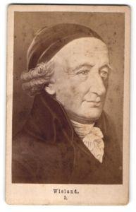 Fotografie Portrait Wieland, Deutscher Dichter