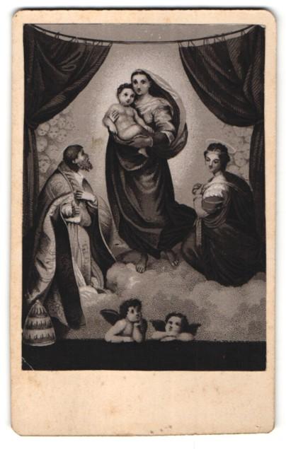 Fotografie Gemälde von Raphael, Madonna 0