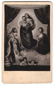 Fotografie Gemälde von Raphael, Madonna