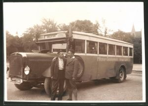 Fotografie Bus Magirus, Omnibus Männer-Gesangverein Winsen / Luhe