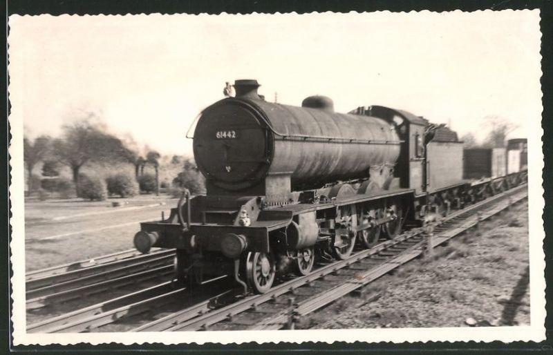 Fotografie Eisenbahn England, Dampflok Nr. 61442 bei Northallerton