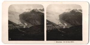 Stereo-Fotografie Fotograf unbekannt, Ansicht Mayrhofen-Ginzling, Berliner Hütte im Zillerthal