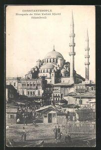 AK Constantinople, Mosquee de Yeni Valide Djami, Stamboul