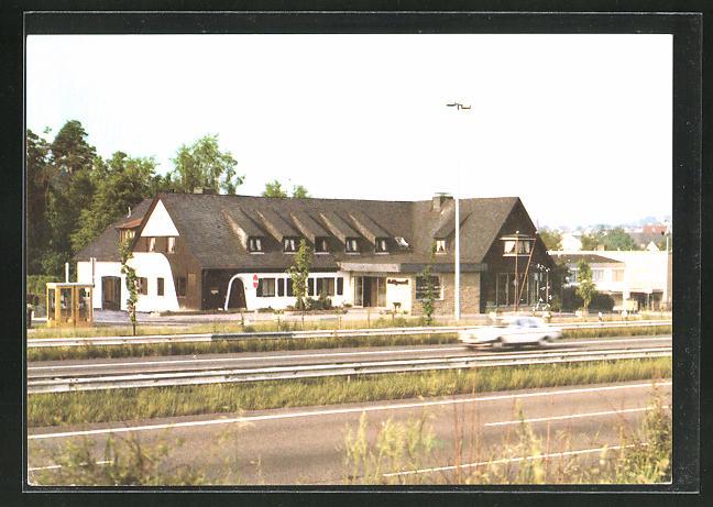 AK Heiligenroth / Montabaur, Motel Bundesautobahn-Raststätte Heiligenroth