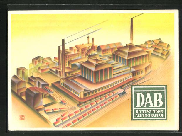 AK Dortmund, DAB Dortmunder Actien-Brauerei