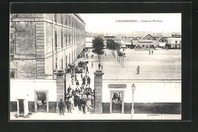 AK Cherbourg, Caserne Proteau