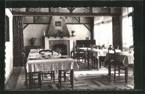 AK La Haye du Puits, Hotel de la Croix-Blanche