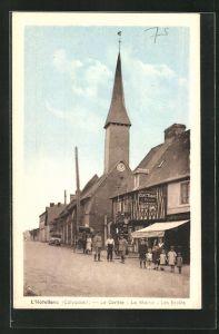 AK L`Hotellerie, Le Centre, La Mairie, Les Ecoles