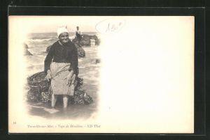 AK Trouville sur Mer, Type de Mouliere
