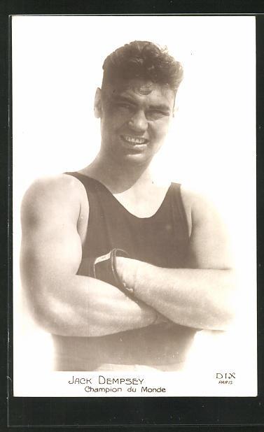 AK Boxer Jack Dempsey, Champion du Monde