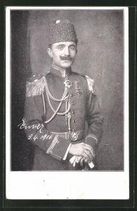 AK Kriegsminister der Türkei Enver Pascha
