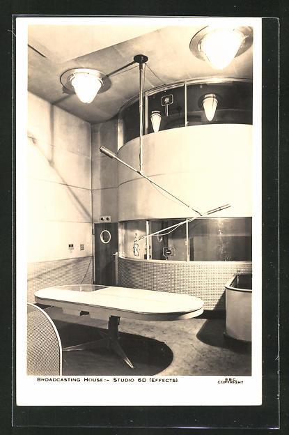 AK Broadcasting House: Studio 6D (Effects), Senderaums des Radios