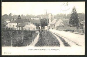 AK Saint-Léger-en-Yvelines, La Grande-Rue