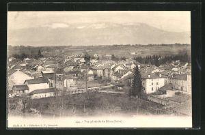AK Rives, Blick über die Dächer der Ortschaft