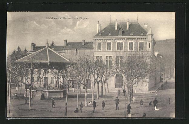 AK St-Marcellin, Place d`Armes
