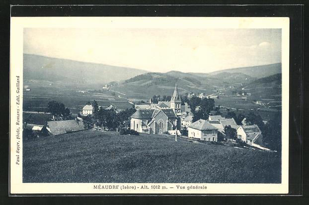 AK Méaudre, Vue générale, Blick auf das Dorf