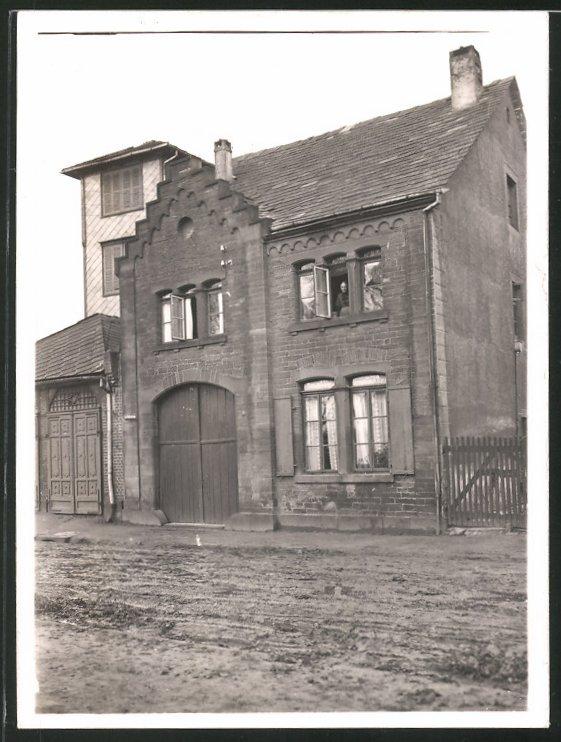 Fotografie Fotograf unbekannt, Ansicht Holzminden, Gebäude im Ort