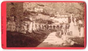 Fotografie Würthle & Spinnhirn, Salzburg, Ansicht Salzburg, Friedhof