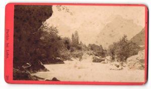 Fotografie Würthle & Spinnhirn, Salzburg, Ansicht Lofer, Flusslauf