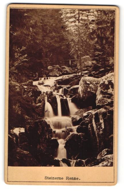 Fotografie E. Rose, Wernigerode, Ansicht Wernigerode, Steinerne Renne