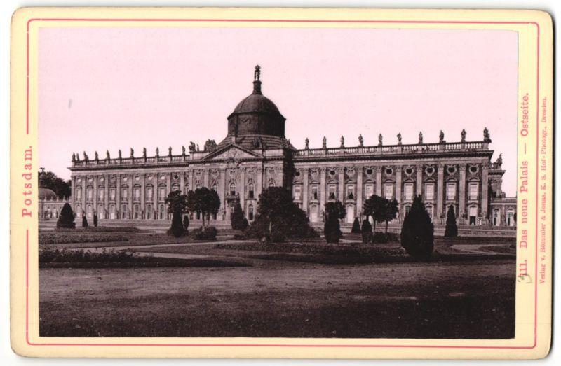 Fotografie Römmler & Jonas, Dresden, Ansicht Potsdam, neues Palais