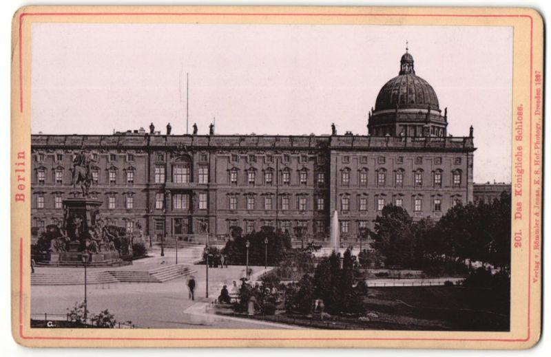 Fotografie Römmler & Jonas, Dresden, Ansicht Berlin, das königliche Schloss