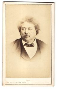 Fotografie Ch. Reutlinger, Paris, Portrait Alexandre Dumas, Schriftsteller