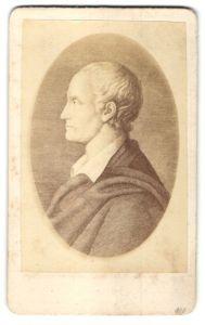 Fotografie Portrait Ludwig Hölty, Dichter