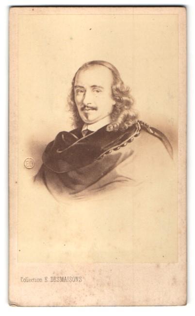 Fotografie E. Desmaisons, Paris, Portrait Pierre Corneille, Autor