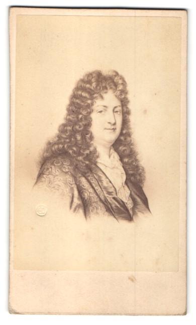 Fotografie E. Desmaisons, Paris, Portrait Jean Racine, Autor