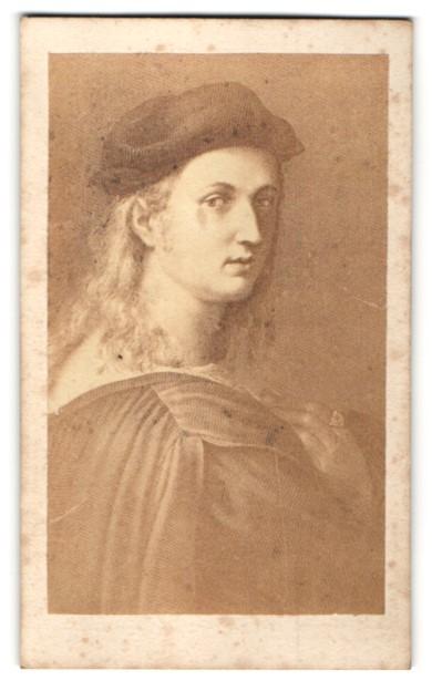 Fotografie Portrait Raphael, Maler