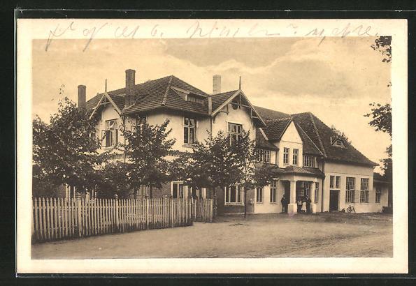 AK Kiel, Gasthaus Eiderkrug von H. Poeschke